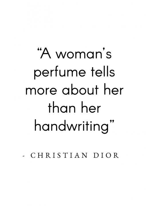 Plakat - Cytat Christian'a Diora
