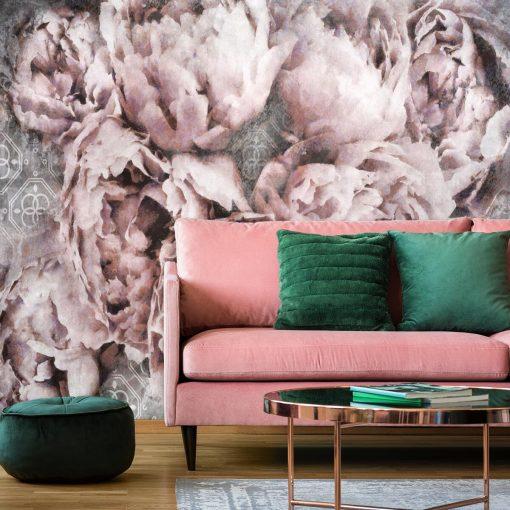 Fototapeta z motywem kwiatowym do salonu