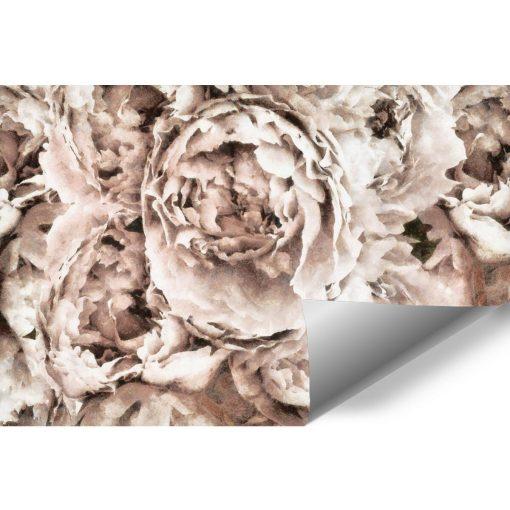 Tapeta - Eleganckie kwiaty do przedpokoju