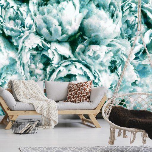 Foto-tapeta z kwiatami do pokoju