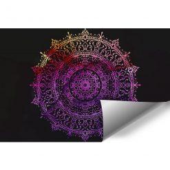 Fototapeta do przedpokoju - Kolorowa mandala