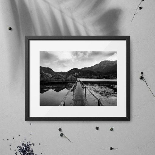 Plakat do sypialni - Jezioro Bawarii