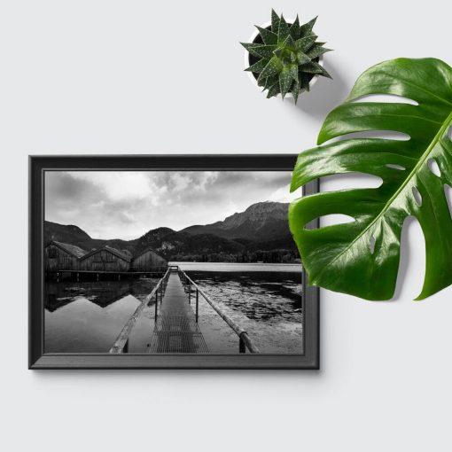 Plakat do przedpokoju - Jezioro Bawarii