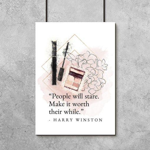 Plakat do pokoju - Cytat Harry'ego Winstona