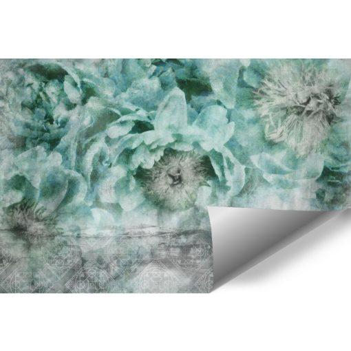 Foto-tapeta botaniczna do sypialni - Wzór orientalny