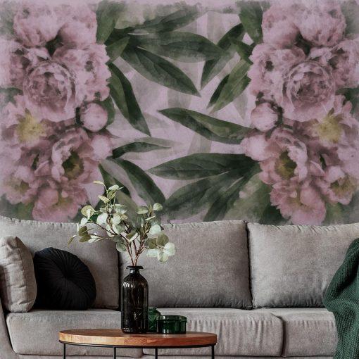 Tapeta w kwiaty do pokoju