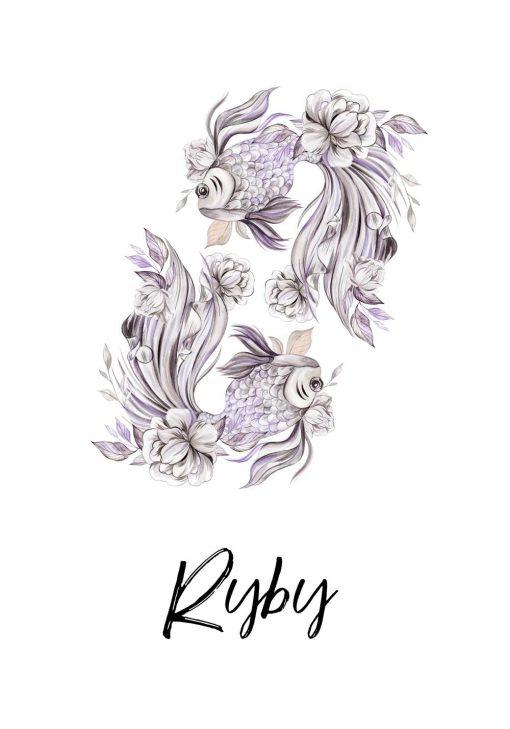 Plakat - Ryby