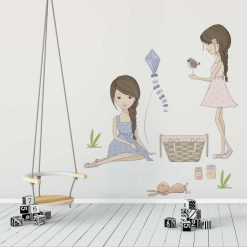 Komplet naklejek dl dzieci - Dziewczynki