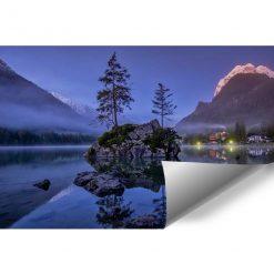 Fototapeta z jeziorem do salonu - Bawaria