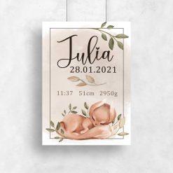 Plakat personalizowany dla dziecka