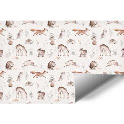 Foto-tapeta dla dziecka - Leśne zwierzęta