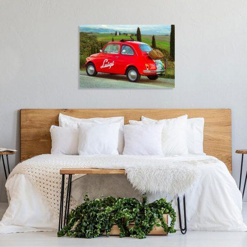 Obraz do sypialni - Czerwone auto