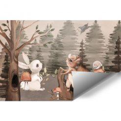 Foto-tapeta z muchomorkami do pokoju dziecka