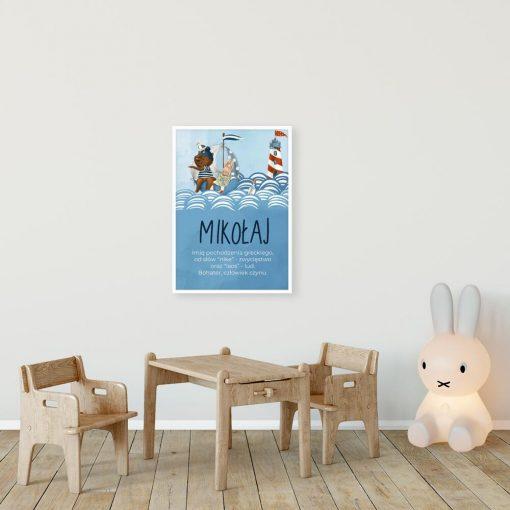 Plakat dla dzieci - Dedykowana dekoracja