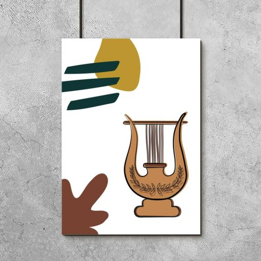 Plakat z lirą