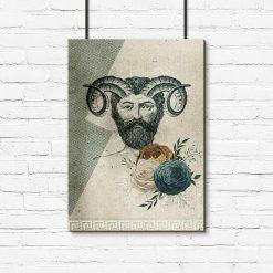 Plakat z greckim bozkiem