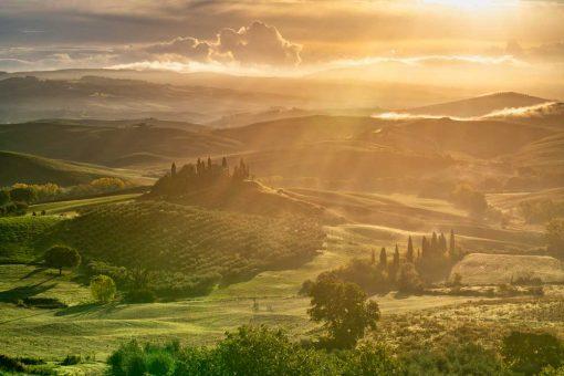 Obraz- pejzaż Toskania