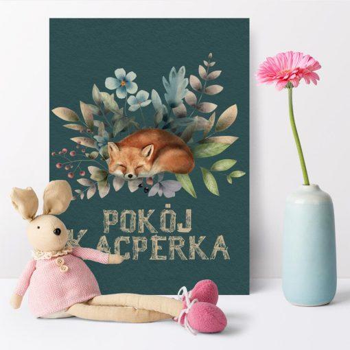 Plakat dla dziecka z typografią