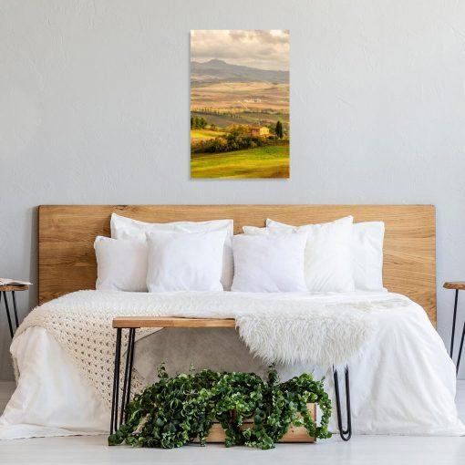 Obraz widok na wzgórza Toskanii