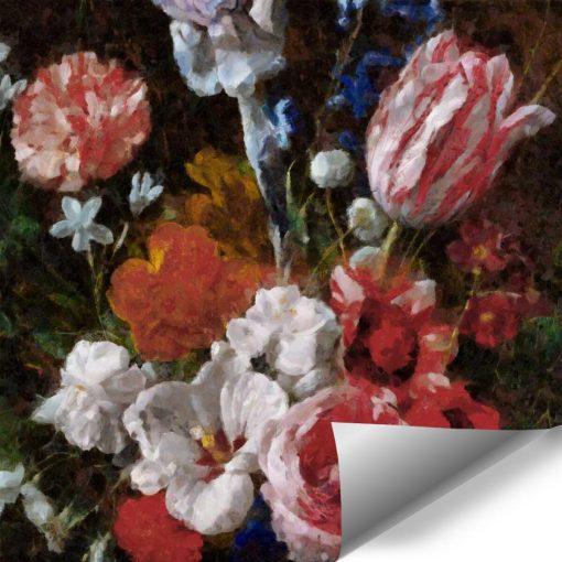 Fototapeta do kuchni - Bukiet polnych kwiatów