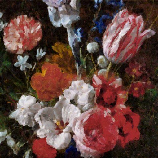 Fototapeta na prezent - Bukiet polnych kwiatów