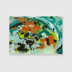 Obraz do dekoracji sypialni - Abstrakcja