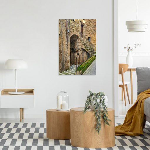 Obraz zabytkowe domy