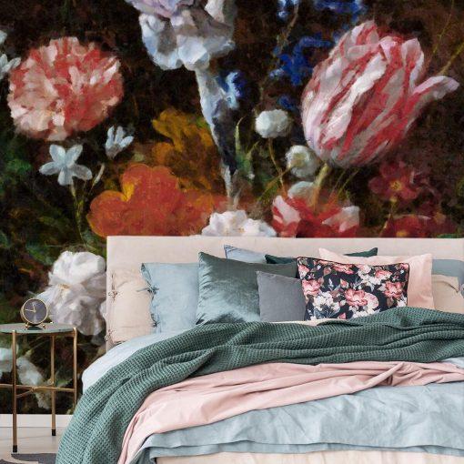 Fototapeta do salonu - Bukiet polnych kwiatów