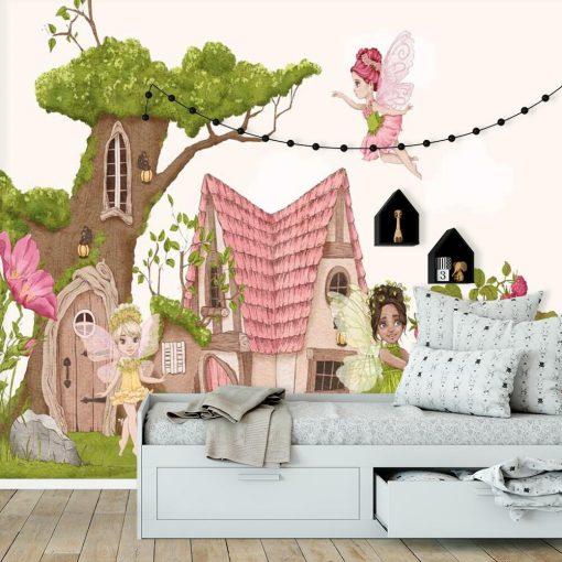 Foto-tapeta do pokoju dziecinnego z elfami