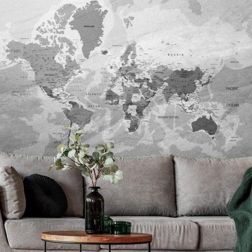 Tapeta z państwami na mapie politycznej