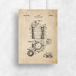 Plakat patent - beer container and cooler