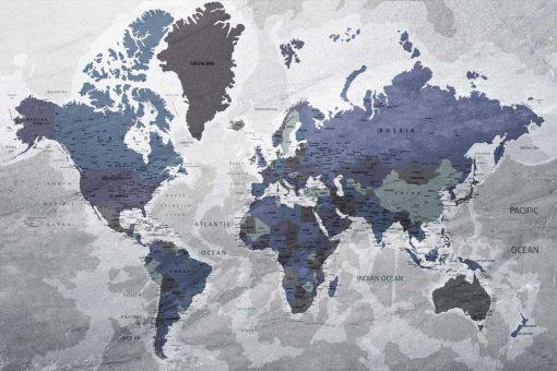 Tapeta z mapą