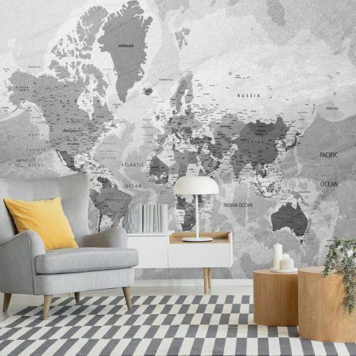 Państwa świata na mapie