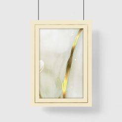 Plakat z marmurową abstrakcją
