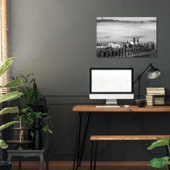 Obraz Belweder w słońcu i mgle do gabinetu