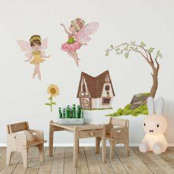 Leśne naklejki do dziecinnego pokoju
