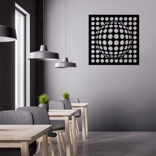 Przestrzenna dekoracja z iluzją