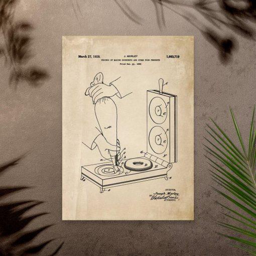 Plakat atest urządzenia kuchennego