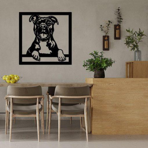 Dekoracja trójwymiarowa z psem