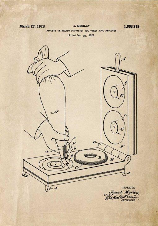 Plakat z koncepcją na urządzenie kuchenne