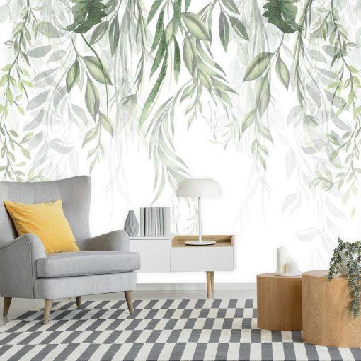 Fototapeta z roślinami