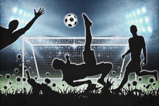 Dziecięca fototapeta - Mecz dla fanów footballu