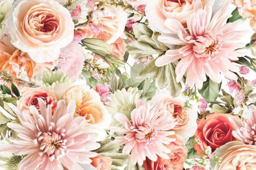Foto-tapeta kwiaty ogrodowe