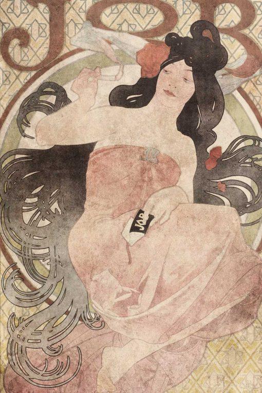 Foto-tapeta z reprodukcją reklamy papierosów
