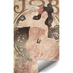 Foto-tapeta z reprodukcją reklamy papierosów do przedpokoju