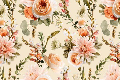 Fototapeta w barwne kwiaty dla kobiet