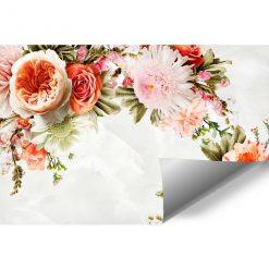 Fototapeta z wiązanką kwiatów do ozdoby salonu