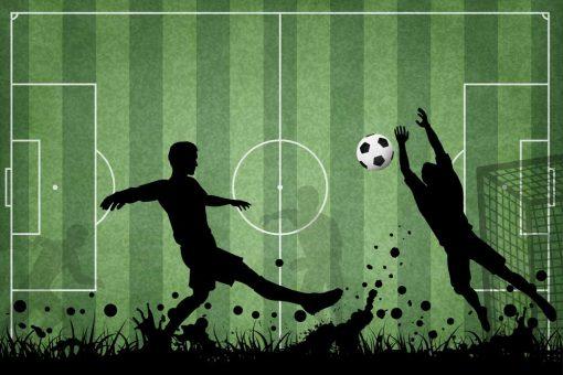 Piłka nożna - Fototapeta dla miłośnika footballu