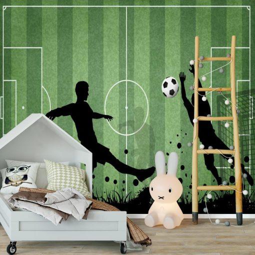 Piłka nożna - Fototapeta dla ucznia