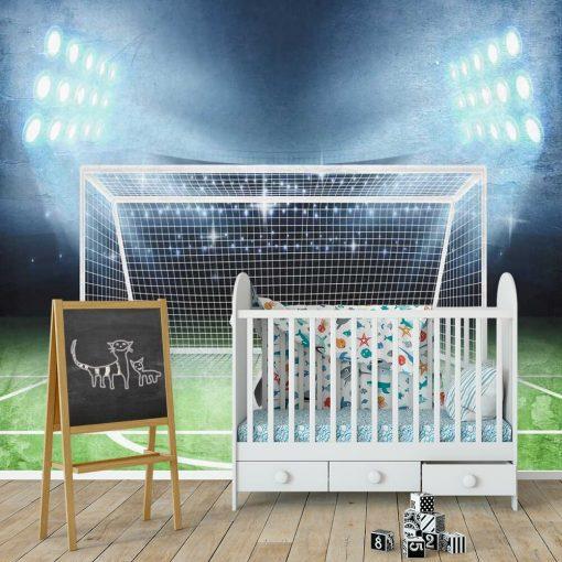 Tapeta dla miłośnika footballu - Piłka na murawie